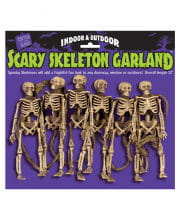 Scary Skeleton Garland 182cm