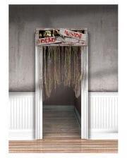 Halloween Türvorhang DEAD INSIDE
