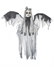 Hanging Girl mit Flügeln Halloween Animatronic