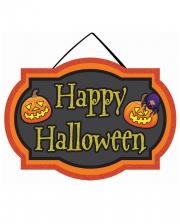 Happy Halloween Schild