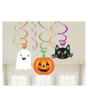 Happy Halloween Spirals Deco