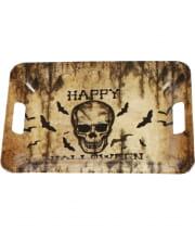 Happy Halloween Tray Skull
