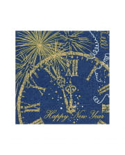 Happy New Year Napkins 20 Pieces