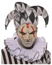 Harlequin half mask