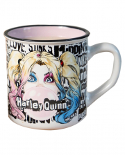 Harley Quinn Keramik Tasse