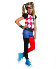 Harley Quinn Children's costume 4-pc