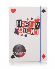 Harley Quinn Notebook A6