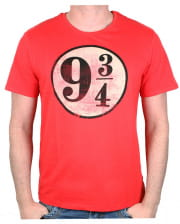 Harry Potter - Track 9 3/4 T-Shirt Red