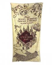 Harry Potter Map Of The Rumrunner Towel