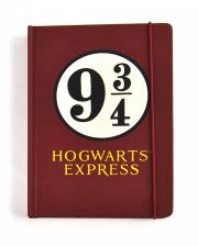 Harry Potter Track 9 3/4 Notebook A5