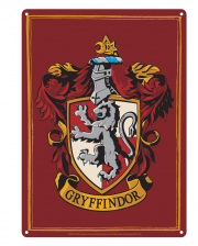 Harry Potter Gryffindor Metallschild DIN A5
