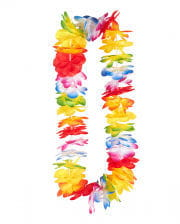 """Colorful flower necklace """"Hawaii"""""""