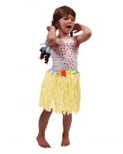 Hawaii Kids Skirt yellow