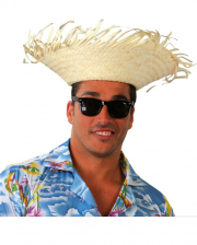 Hawaii Party Straw Hat