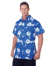 Hawaii Shirt Blue Plus Size
