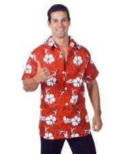 Hawaii Hemd Rot