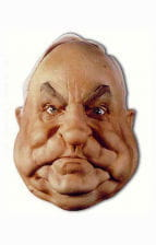 Helmut Kohl Schaumlatex Maske