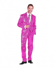 Men Suit With Sequins Pink