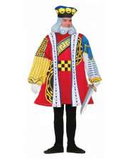 King Of Hearts Card Game Costume