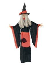 Hexen Hängefigur als Halloween Deko 100cm