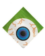 Witch Eyeball Napkins 16 Pc.