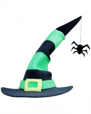 Witch Hat With Foam Spider
