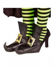 Hexenschuh mit Schnalle Schuhüberzieher