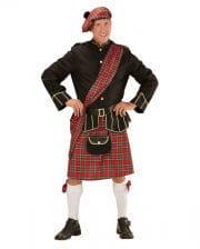 Highlander Schottenkostüm mit Tasche