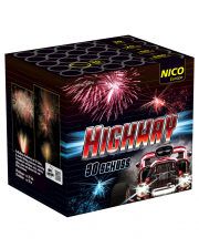 Highway Batteriefeuerwerk 30 Schuss
