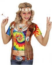 Hippie Frau T-Shirt
