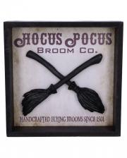 Hocus Pocus Hexenbesen Wandbild 20cm
