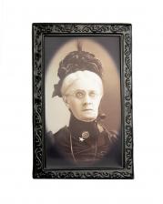 Large hologram image - evil aunt -