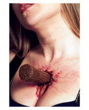 Wooden Peg Latex Wound