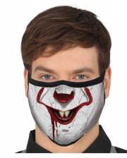 Horror-Clown 3-lagige Alltagsmaske