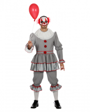 Horror Clown Men Costume