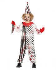 Horror-Clown Child Costume