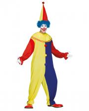 Fasching Clown Kostüm mit Hut