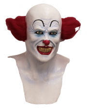 Horror Clown Maske mit Brustteil