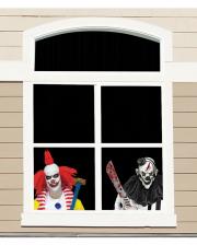Horrorclowns Fensterfolie 60cm