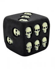 Skull Dice phosphorescent 7.5cm