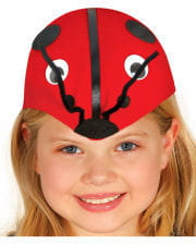 Ladybug animal hat for children