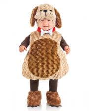 Plush dog carnival costume