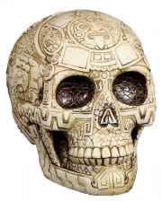 Skull With Aztec Pattern
