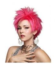 Hot Pink Vivid Cosplay Perücke