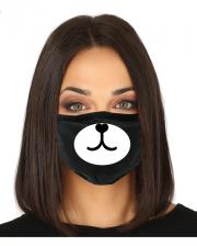 Panda 3-lagige Alltagsmaske