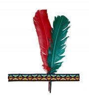 Indianer Stirnband mit Federn
