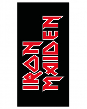 Iron Maiden Logo Towel