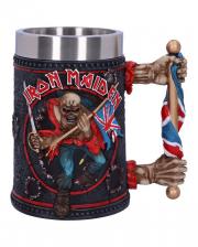 """Iron Maiden """"Trooper"""" Beer Mug"""
