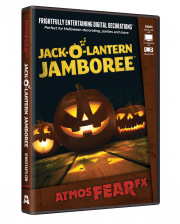Jack'o'Lantern TV Halloween Effect DVD