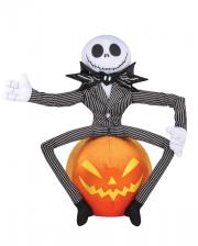 Jack Skellington auf Kürbis Halloween Greeter